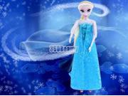 """Frozen Princess Elsa Doll Toy Figures Set Playset 12"""" Doll &Olaf Snowman Sale"""