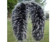 Luxury Women's faux fur collar raccoon fur scarf shawl collar Scarves 5 Colors