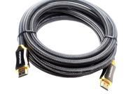 Forspark High Speed Premium HDMI Cable 15 Feet with Ethernet Full HD - Supports 4K, 3D, 1080p and Audio Return [ HDMI 2.0 ]