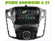 Android 4.22 car dvd gps for FORD Focus 2012 C Max 2011+1.6g RAM+ 8gB FLASH+3G + WIFI DONGLE+steering wheel control+free android map