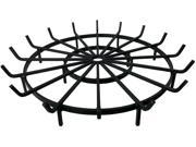 """Wagon Wheel Grate for Outdoor Fire Pit (40"""")"""