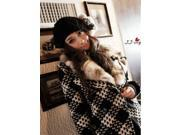 Fashion Knitting Wool Hat Colorful Chuzzle Winter Cap For Lady Woman Girl