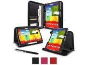 rooCASE Executive Leather Case for Samsung Galaxy Note 10.1 2014 Edition, Black