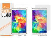 "roocase Samsung Galaxy Tab S 8.4 Screen Protector - Ultra HD Plus Premium High Definition Film for Galaxy Tab S 8.4-Inch 8.4"" Tablet [Anti-Fingerprint / Lifetime Warranty]"
