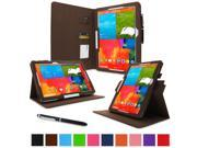 "rooCASE Samsung Galaxy Note PRO & Tab PRO 12.2   Case - Dual View Multi-Angle Stand 12.2-Inch 12.2"" Tablet Case - BROWN (With Auto Wake / Sleep Cover)"