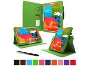 "rooCASE Samsung Galaxy Note PRO & Tab PRO 12.2   Case - Dual View Multi-Angle Stand 12.2-Inch 12.2"" Tablet Case - GREEN (With Auto Wake / Sleep Cover)"
