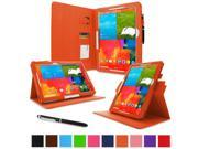 "rooCASE Samsung Galaxy Note PRO & Tab PRO 12.2   Case - Dual View Multi-Angle Stand 12.2-Inch 12.2"" Tablet Case - ORANGE (With Auto Wake / Sleep Cover)"