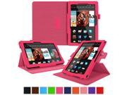 Kindle Fire HDX 8.9 Tablet (2014) Case, roocase new Kindle Fire HDX 8.9 Dual View Folio Case Cover Stand for All-New 2014 Fire HDX 8.9 Tablet (4th Generation), Magenta