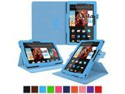 Kindle Fire HDX 8.9 Tablet (2014) Case, roocase new Kindle Fire HDX 8.9 Dual View Folio Case Cover Stand for All-New 2014 Fire HDX 8.9 Tablet (4th Generation), Blue