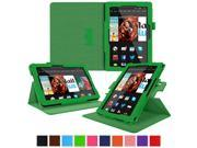 Kindle Fire HDX 8.9 Tablet (2014) Case, roocase new Kindle Fire HDX 8.9 Dual View Folio Case Cover Stand for All-New 2014 Fire HDX 8.9 Tablet (4th Generation), Green
