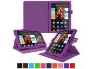 Kindle Fire HDX 8.9 Tablet (2014) Case, roocase new Kindle Fire HDX 8.9 Dual View Folio Case Cover Stand for All-New 2014 Fire HDX 8.9 Tablet (4th Generation), Purple