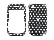 BlackBerry Curve 3G 9300/9330 Polka Dots Snap-On Protector Case Faceplate