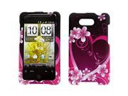 HTC Aria Purple Love Snap-On Protector Case Faceplate