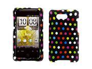 HTC Aria Colorful Polka Dots Snap-On Protector Case Faceplate