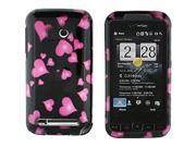 HTC Imagio Raining Hearts Snap-On Protector Case Faceplate