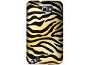 Samsung Galaxy Note SGH-I717 (ATT) / SGH-T879 (T-Mobile) Gold Zebra Protector Faceplate