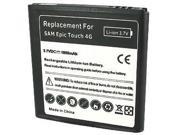 Octane Series Lithium-ion Battery for Samsung Galaxy S II Epic 4G Touch SPH-D710 (Sprint) (1800 mAh)