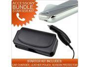 Accessory Bundle Pack for HTC EVO Shift 4G - Starter Kit