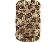BlackBerry Bold 9900/9930 Full Bling Leopard Snap-On Protector Faceplate