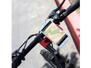 Vice Grip Bicycle Mount Phone Holder For LG CU400 / CU405 - Black/Red