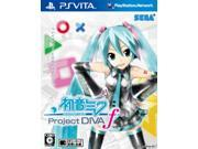 Hatsune Miku : Project Diva f [Japanese Import] PS Vita