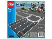 LEGO® City Straight and Crossroad Pieces - 7280.