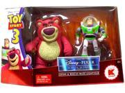 Disney / Pixar Toy Story 3 Screen Scenes Action Figure 2Pack Lotso Rescue Buzz Lightyear