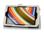 "Luxury Colors PU Leather Stand Case Cover For ASUS VivoTab Note 8 M80TA 8"" tablet PC White"