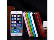 For Apple iPhone 5 5s PU Leather Cover Protective Case Protector Colorful