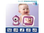 "2.4G Wireless 3.5"" TFT LCD Video Baby Monitor Night Vision Reciever Camera"
