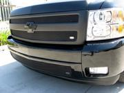 2007-2012 CHEVY SILVERADO LOWER GRILLE (1 Piece) 1500 series  (Gloss Black Finish)