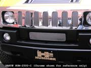 2003-2007 HUMMER H2 GRILLE UPPER and LOWER  (Black Finish)