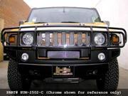 2003-2007 HUMMER H2 UPPER GRILLE (w/oem grille gard) (Gloss Black Finish)