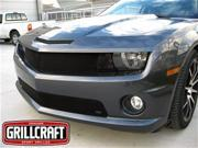 2010-2013 CHEVY CAMARO LT/LS/RS GRILLE UPPER INSERT and  LT/LS/RS GRILLE BUMPER INSERT (Black Finish)
