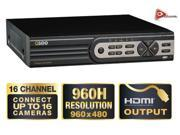 Q-SEE PREMIUM 16 CHANNEL WITH REAL TIME 960H AND D1 RESOLUTION DVR WITH 2TB HDD