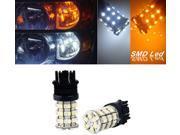IG Tuning 3157 Switchback Dual Color White Amber LED Bulbs Light 3156 3757 4114 4157 Backup Daytime Running Light (DRL), Turn Signal, Corner, Stop, Parking, Side Marker, Tail & Back up Lights 12V