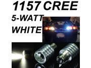 IG Tuning 1157 BAY15D 5W CREE Q3 Chip LED Super Bright - Xenon Pure White Car Signal, Reverse Light Lamp Bulb