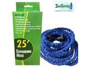 Blue Expandable Hose with Spray 25 Feet