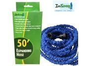Blue Expandable Hose with Sprayer 50 Feet