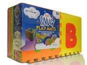"EnviUs Snug Plus Play Mat Alpha: Formamide Free Ultra Thick 26 Pieces 12"" x 12"" x 9/16"" (Snug Plus Series w/ FREE Borders)"