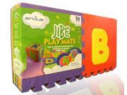 """EnviUs Jibe Play Mat Alpha : Formamide Free 26 Pieces 12"""" x 12"""" x 6/15"""" (FREE Borders)"""