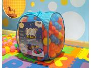 "EnviUs Cushy Pit Balls - Prince 100 : ""Phthalates Free"" 100 Count 6.5 CM w/Blue Mesh Tote Bag : 6 Colors (16 Red, 16 Orange, 16 Yellow, 16 Green, 16 Purple, 20 Blue)"
