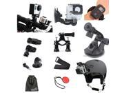 EEEKit GoPro Hero 3+/3/2,Windshield Car Holder+Bike Handlebar Mount+Wrist Strap