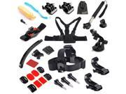 EEEKit for Gopro HD Hero 4,Head/Wrist/Surface Sticker/Helmet/Chest/Monopod Mount