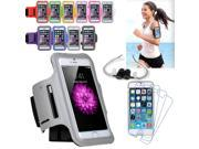 EEEKit Sports Kit for IPhone 6 4.7 Gym Running Jogging Sport Armband Case+Earphone+Screen Protector