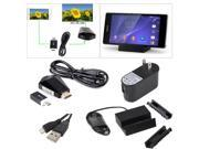 EEEKit Home Kit for Sony Xperia Z3 MHL to HDMI Adapter+Dock Cradle+Wall Charger