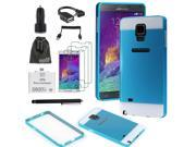 EEEKit for Samsung Galaxy Note 4 Bumper Frame Case Cover+OTG Cable/Card Reader