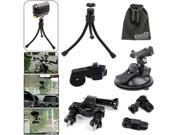 EEEKit Mount Kit for Sony Action Cam,Bicycle Handlebar/Tripod/Car Mount Holder