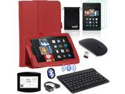EEEKit Office Kit for Fire HD 7 Tablet Case Cover+Bluetooth Keyboard+Mouse+Cable