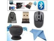 EEEKit Bluetooth Control Kit for Laptop PC, Bluetooth 4.0 Adapter/Speaker/Mouse